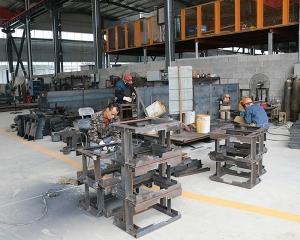 柳工方管激光切割产品