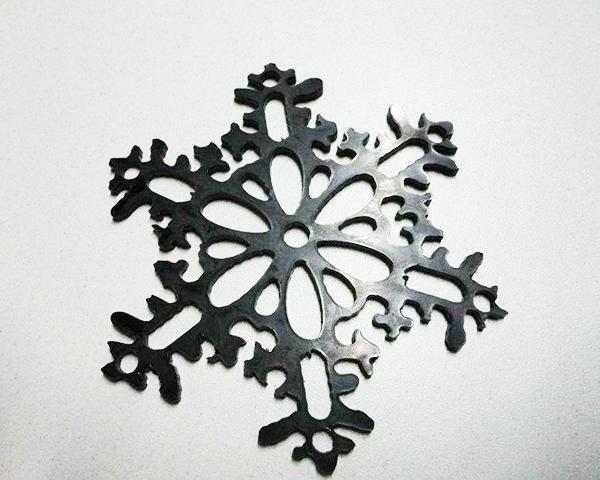 雪花激光切割
